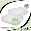 Biopedic Memory Plus Quilted Memory Foam Standard Pillow