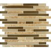 Marazzi Crystal Stone 0 625 Quot X 0 625 Quot Glass And Stone
