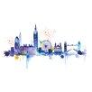 Art Group London Skyline by Summer Thornton Canvas Wall Art