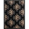 Pharmore Ltd Opulence Black Area Rug