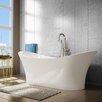 A Amp E Bath And Shower 56 Quot X 31 5 Quot Bathtub Amp Reviews Wayfair