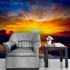 The Binary Box Sunset Self Adhesive Wallpaper