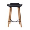 Wade Logan Timothy Adjustable Height Swivel Bar Stool