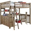 Donco Kids Twin Low Loft Bed With Storage Amp Reviews