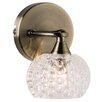 Endon Lighting Eastwood 1 Light Semi-Flush Wall Light