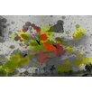 Parvez Taj Cress Prickly Graphic Art Wrapped on Canvas