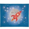 Illuminated Canvas Rocket Graphic Art on Canvas
