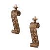 dCor design 2 Piece Iron Candlestick Set (Set of 2)