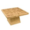 Castleton Home Coffee table made of brushed and glazed wood