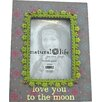 Castleton Home Love You to the Moon Wooden Picture Frame