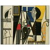 Castleton Home 'Printer and Model' by Picasso Art Print