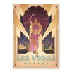 Americanflat Las Vegas Show Girl by Anderson Design Group Vintage Advertisement