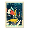 Americanflat New York Times Square by Anderson Design Group Vintage Advertisement