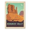 Americanflat Asa Navajo Tribal Park Monument Valley Vintage Advertisement