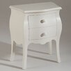 Castagnetti Isabeau 2 Drawer Bedside Table