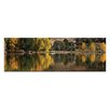 Artist Lane Coloured Glass by Andrew Brown Photographic Print on Canvas in Yellow