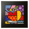 Goebel Big Apple by Romero Britto Framed Wall Art