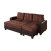 Wildon Home 174 Logan Sleeper Sectional Amp Reviews Wayfair