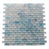 Daltile City Lights 0 5 Quot X 0 5 Quot Glass Mosaic Tile In Blue
