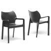Latitude Run Aidan Arm Chair (Set of 2)