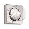Metal Lux Capriccio 1 Light Flush Wall Light