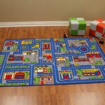 Unique Loom Luke Blue Area Rug Amp Reviews Wayfair