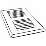 Worthhomeproducts 20 Quot X 20 Quot Wooden Return Air Grilles