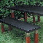 2x4 Basics Fliptop Garden Bench Table Kit Amp Reviews Wayfair