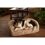 Buddy Beds Luxury Memory Foam Dog Crate Pad With Suede
