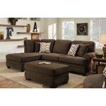 Wayfair Custom Upholstery Andrew Reversible Chaise