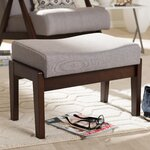 Homepop Fashion Upholstered Storage Cube Ottoman Amp Reviews
