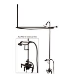 Kohler Antique Floor Or Wall Mount Bath Faucet With Lever