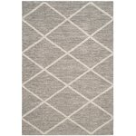 Safavieh Courtyard Fairmont Navy Beige Outdoor Area Rug