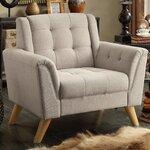 House Of Hampton Feldman Upholstered Slipper Chair Amp Reviews Wayfair