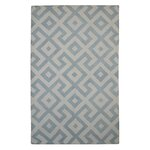 Darby Home Co Kirschbaum Hand Woven Rust Ivory Area Rug