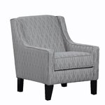 Wholesale Interiors Baxton Studio Oliver Tufted Arm Chair