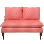 wodina armless chaise lounge astaire linen chaise lounge