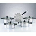All Clad Copper Core 14 Piece Cookware Set Amp Reviews Wayfair