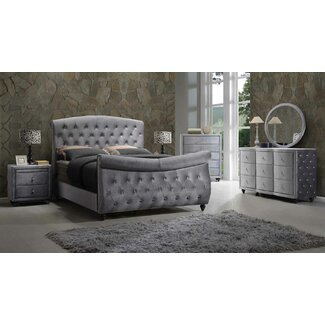 Meridian Furniture Usa Hudson Panel Customizable Bedroom Set You 39 Ll Love Wayfair