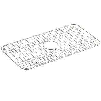 Sink Grates For Kohler Sinks : Modern Kohler Bakersfield Stainless Steel Sink Rack, 25