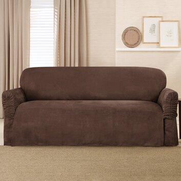 sure fit sofa slipcover reviews wayfair. Black Bedroom Furniture Sets. Home Design Ideas