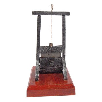 Design Toscano Desk Sized Guillotine Sculpture Amp Reviews