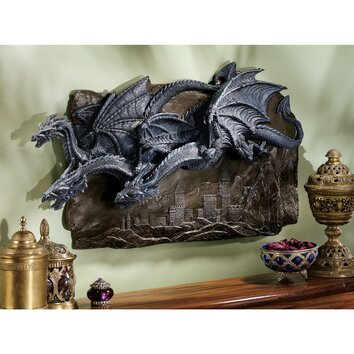 Design Toscano Morgoth Castle Dragons Wall D 233 Cor Amp Reviews