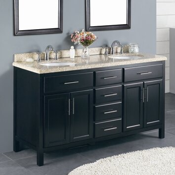 Ove Decors Milan 60 Quot Double Bathroom Vanity Set Amp Reviews