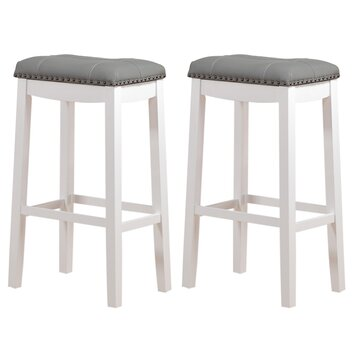 Angel Line Cambridge 29 Quot Bar Stool With Cushion Amp Reviews