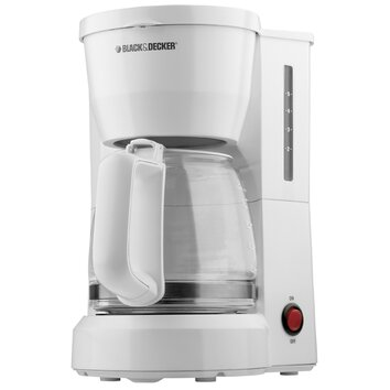 Black And Decker One Cup Coffee Maker Review : Black & Decker 5 Cup Coffee Maker & Reviews Wayfair