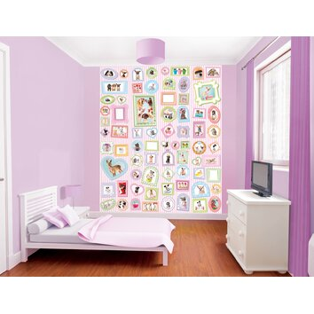 bathrooms for kids wallpops walltastic wall studio pets wall mural wayfair 11988