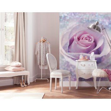 bathrooms for kids wallpops komar mystic wall mural wayfair 11988