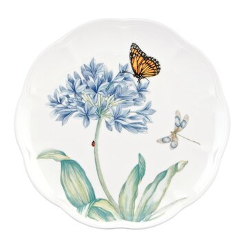 Lenox Butterfly Meadow 9 Quot Blue Accent Plate Amp Reviews