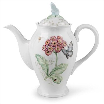 Lenox Butterfly Meadow Coffee Server With Lid Amp Reviews